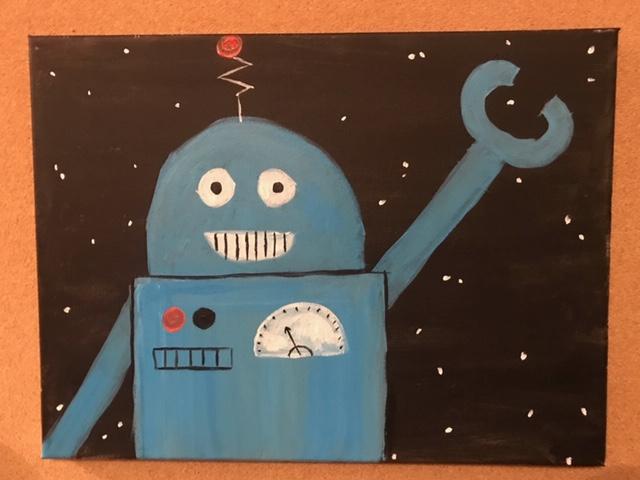 Rascal Robot blue