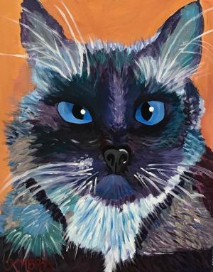 Cat Paint your Pet July