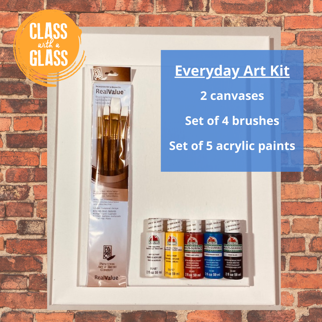 Everyday art at home kit